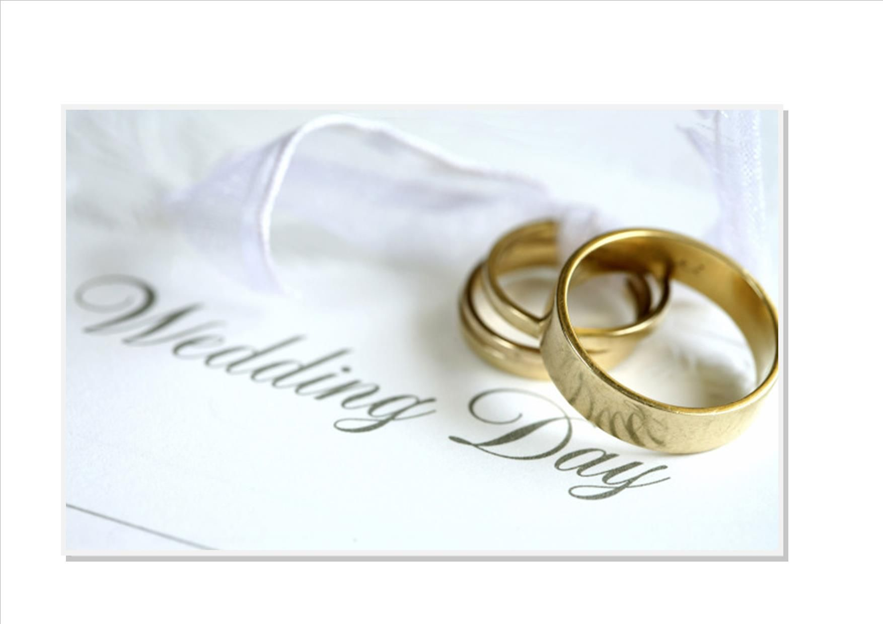 24 x Money Request Poem Cards 3 different poems Wedding day rings