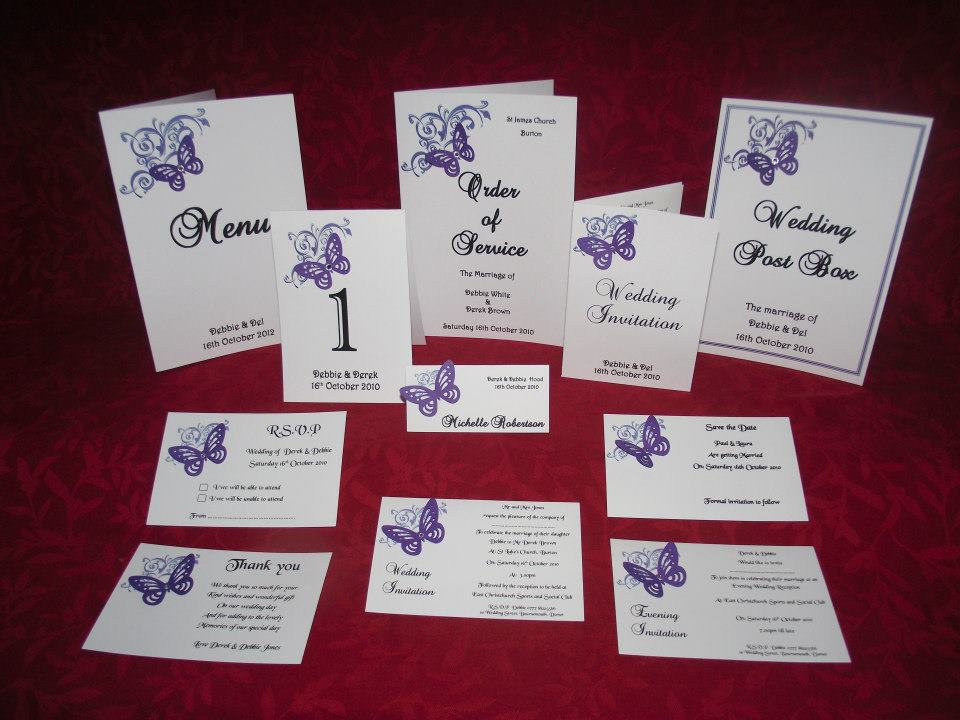 Table numbers names double sided personalised 6 or 5 top for Table design names